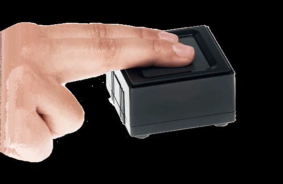 Watson Mini Escáner de Huellas Digital certificado por el FBI