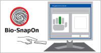 Con Bio-SnapON™ (Usando la Huella Dactilar ID)